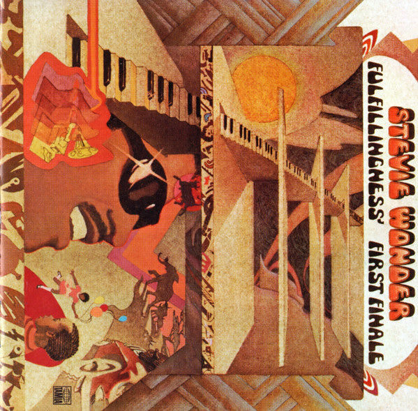 Stevie Wonder - Fulfillingness' First Finale (CD, Album, RE, RM) - USED