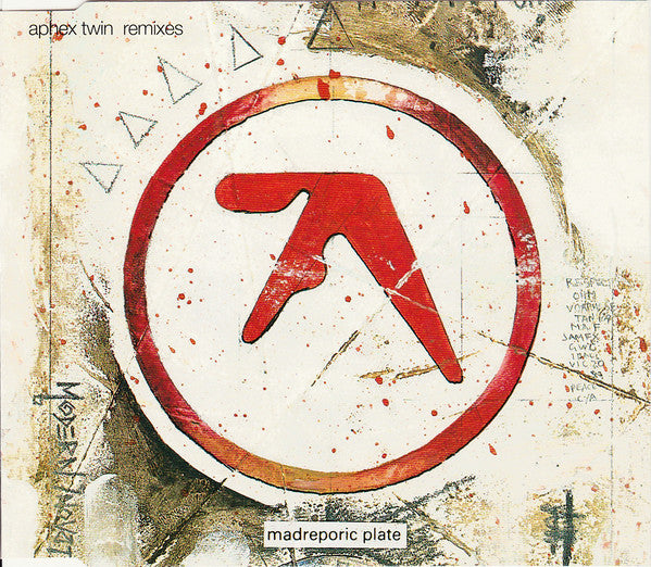 Aphex Twin - On (Remixes) (CD, EP, Whi) - USED