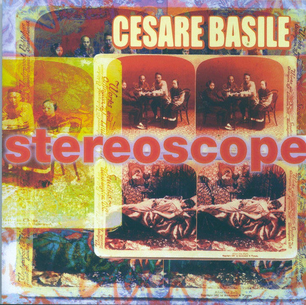 Cesare Basile - Stereoscope (CD, Album) - USED