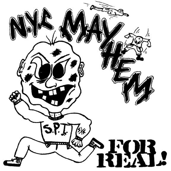 NYC Mayhem - For Real! (LP, Comp) - NEW
