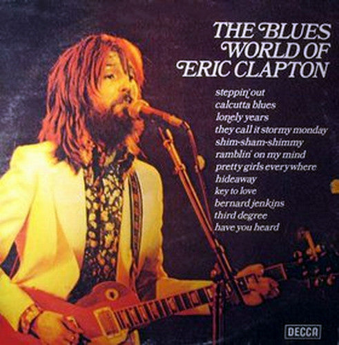 Various - The Blues World Of Eric Clapton (LP, Comp) - USED