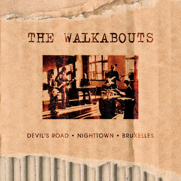 The Walkabouts - The Virgin Years: Devil's Road • Nighttown • Bruxelles (CD, Album, RE + CD + CD, Album, RE + CD + CD, Albu) - NEW