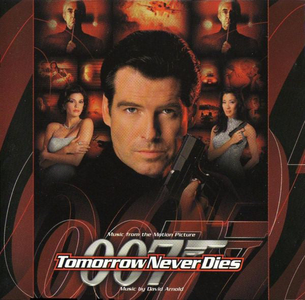 David Arnold - Tomorrow Never Dies (Music From The Motion Picture) (CD, Album, Comp) - USED
