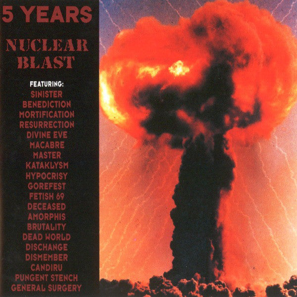 Various - 5 Years Nuclear Blast (CD, Comp) - USED