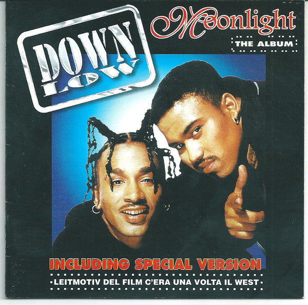 Down Low - Moonlight The Album (CD, Comp) - USED