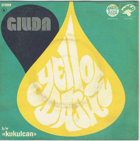 "Giuda (2) - Yellow Dash (7"", Single) - NEW"