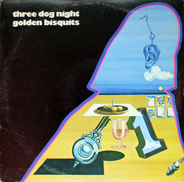 Three Dog Night - Golden Bisquits (LP, Comp) - USED
