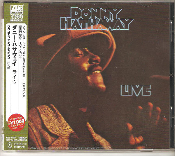 Donny Hathaway - Live (CD, Album, RE, RM) - USED
