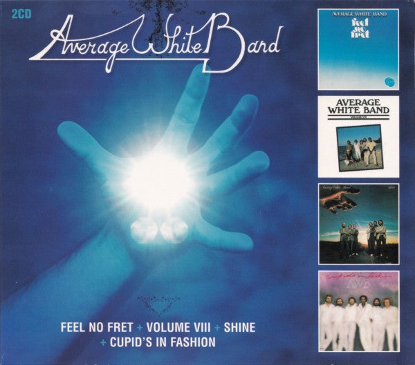 Average White Band - Feel No Fret / Volume VIII / Shine / Cupid's In Fashion (2xCD, Comp) - USED