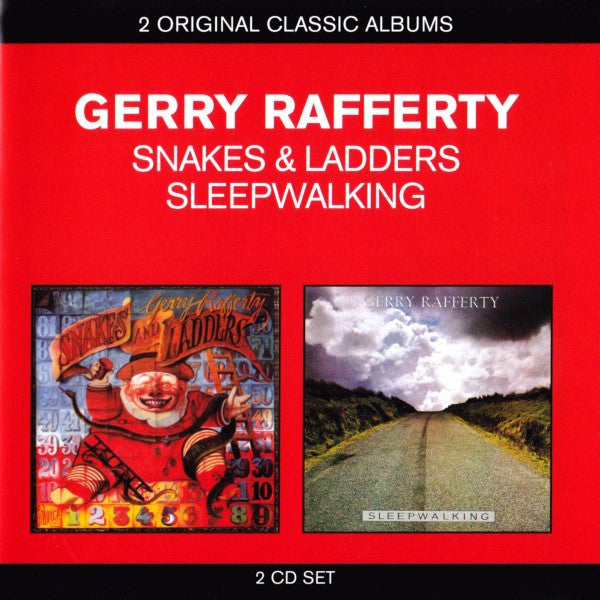Gerry Rafferty - Snakes And Ladders / Sleepwalking (2xCD, Comp, RE) - USED
