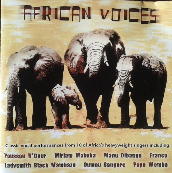 Various - African Voices (CD, Comp) - USED