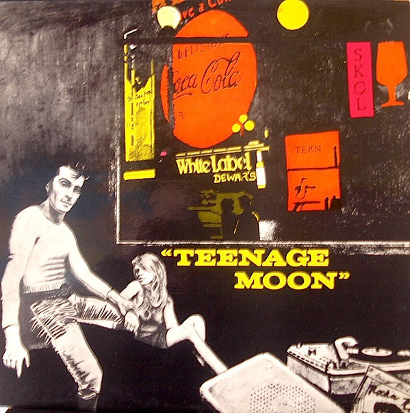 Various -  Teenage Moon (LP, Comp) - USED