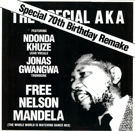 "The Special AKA - Free Nelson Mandela (The Whole World Is Watching Dance Mix) (12"") - USED"