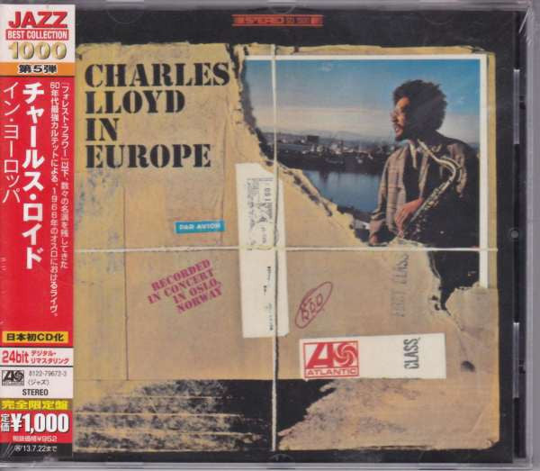 Charles Lloyd - In Europe (CD, Album, RE, RM) - NEW