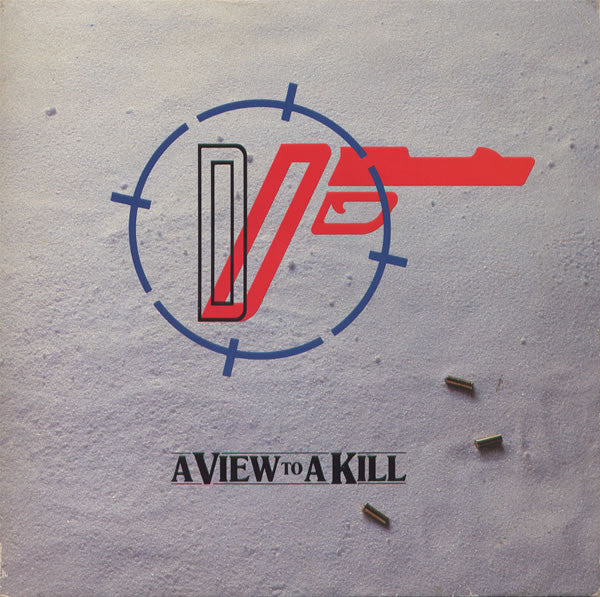 "Duran Duran - A View To A Kill (7"", Single, Whi) - USED"