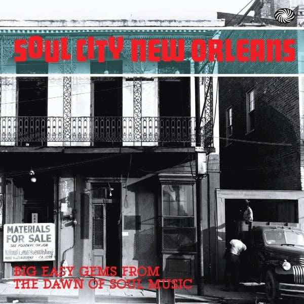 Various - Soul City New Orleans - Big Easy Gems From The Dawn Of Soul Music (2xLP, Comp) - NEW