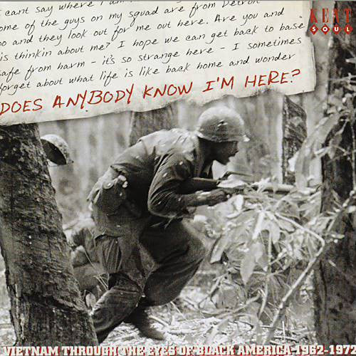 Various - Does Anybody Know I'm Here? (CD, Comp) - USED