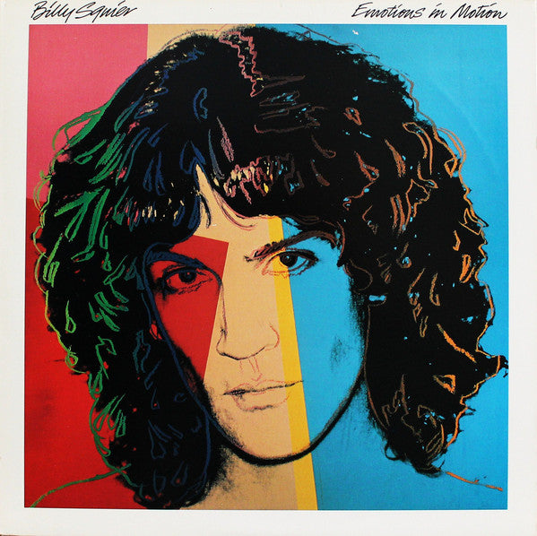 Billy Squier - Emotions In Motion (LP, Album, Jac) - USED