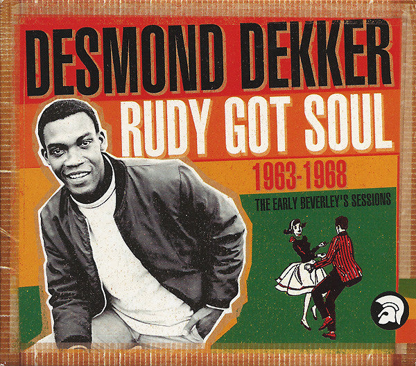 Desmond Dekker - Rudy Got Soul (1963-1968 - The Early Beverley's Sessions) (2xCD, Comp) - USED