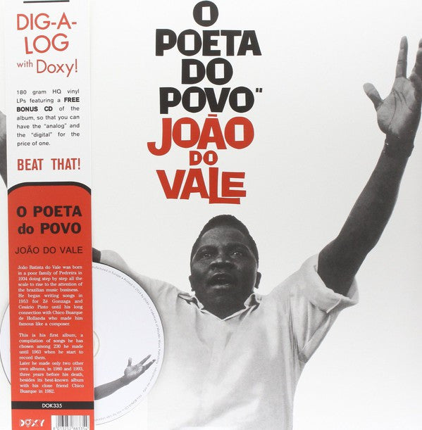 João Do Vale - O Poeta Do Povo (LP, RE + CD, Album) - NEW