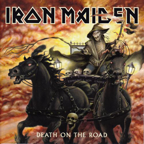 Iron Maiden - Death On The Road (2xCD, Album) - USED