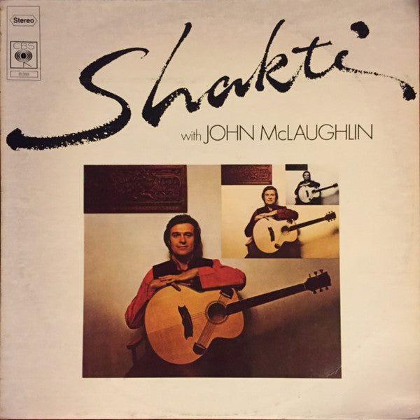 Shakti (2) - Shakti With John McLaughlin (LP, Album) - USED