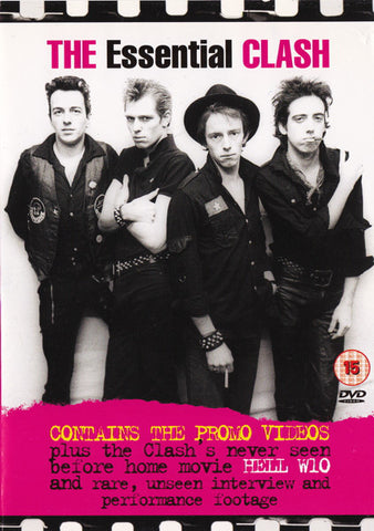 The Clash - The Essential Clash (DVD-V, Comp, Multichannel) - USED