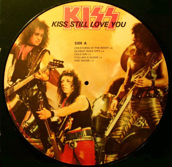 Kiss - Kiss Still Love You (2xLP, Album, Ltd, Pic, Unofficial) - USED