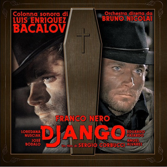 Luis Bacalov - Django (LP, Dlx, Ltd, RE, S/Edition, Gol) - NEW