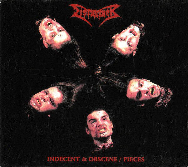 Dismember - Indecent & Obscene / Pieces (CD, Comp, Dig) - USED