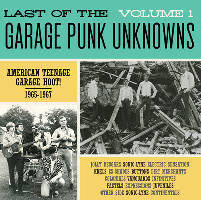 Various - Last Of The Garage Punk Unknowns Volume 1 (LP, Comp, Gat) - NEW