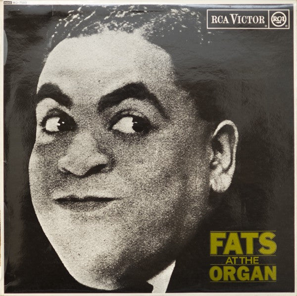 Fats Waller With Thomas Morris' Hot Babies* - Fats At The Organ (LP, Comp, Mono, Lam) - USED