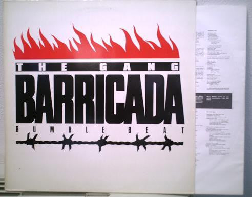 The Gang (3) - Barricada Rumble Beat (LP) - USED