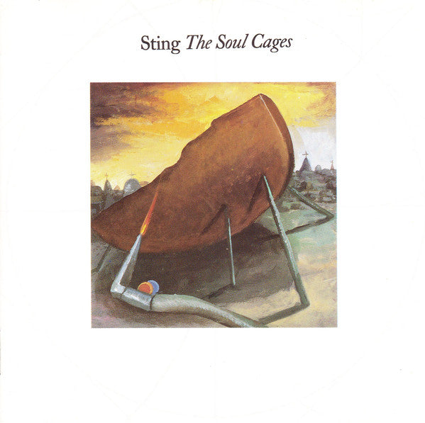 Sting - The Soul Cages (CD, Album) - USED