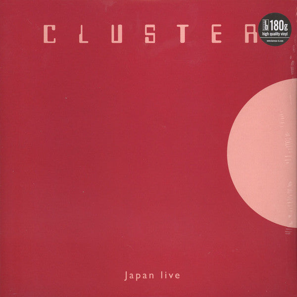 Cluster - Japan Live (LP, Album, RE) - NEW
