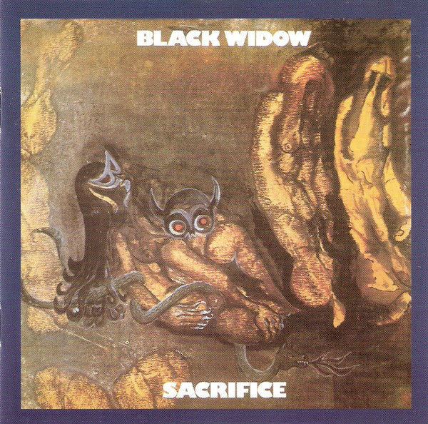 Black Widow (5) - Sacrifice (CD, Album, RE) - USED