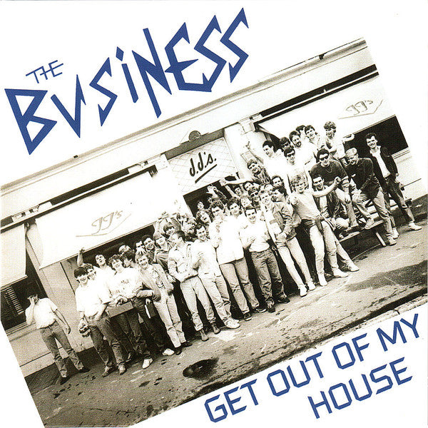 "The Business - Get Out Of My House  (7"", EP, Ltd, RE) - NEW"