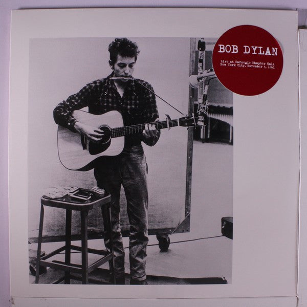 Bob Dylan - Live At Carnegie Chapter Hall, New York City, November 4, 1961 (2xLP, Ltd, Unofficial) - NEW