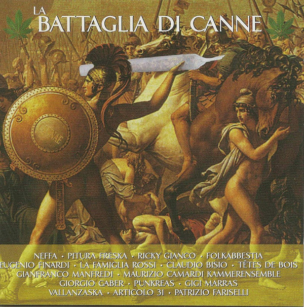 Various - La Battaglia di Canne (CD, Comp) - USED