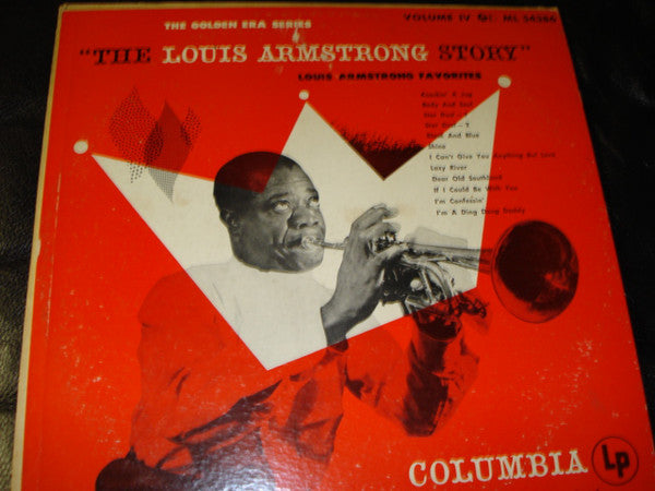 Louis Armstrong - The Louis Armstrong Story, Volume IV: Louis Armstrong Favorites (LP, Comp, Mono) - USED
