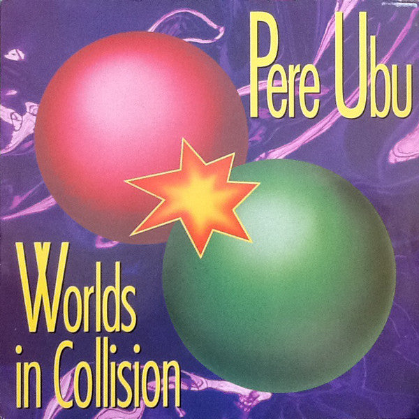 Pere Ubu - Worlds In Collision (LP, Album) - USED