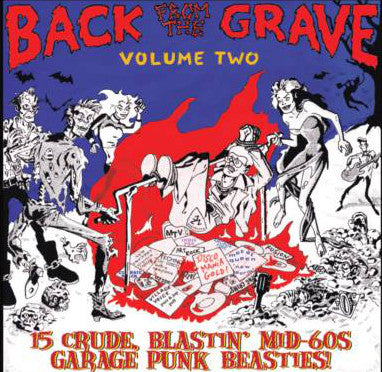 Various - Back From The Grave Volume Two (LP, Comp, RE, RM, Gat) - NEW