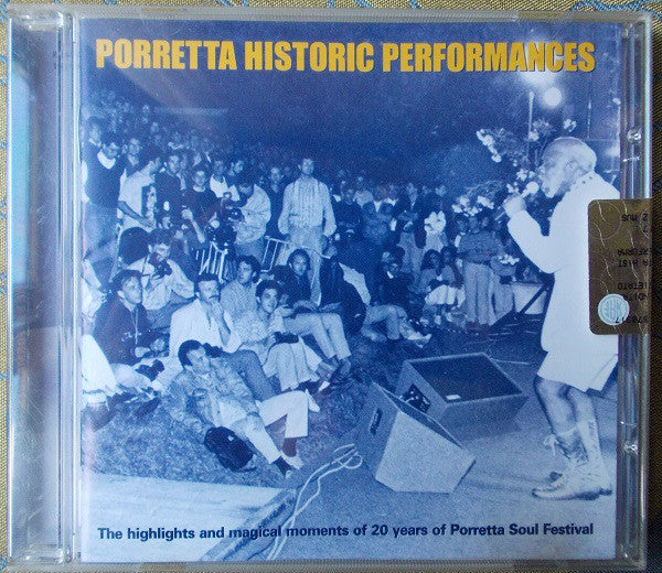 Various - Porretta Historic Performances (CD, Comp) - USED