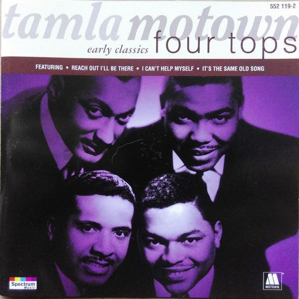 Four Tops - Tamla Motown Early Classics - Four Tops (CD, Comp) - USED
