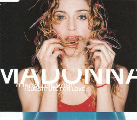 Madonna - Drowned World / Substitute For Love (CD, Single, Promo) - USED