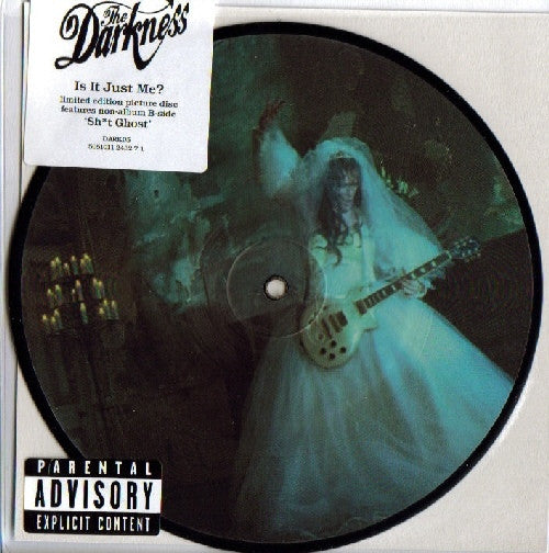"The Darkness - Is It Just Me? (7"", Ltd, Pic) - USED"
