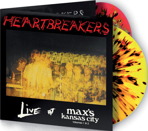 Heartbreakers* - Live At Max's Kansas City Volumes 1 & 2 (2xLP, Album, Ltd, RE, Mul) - NEW