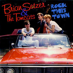 Brian Setzer & The Tomcats (3) - Rock This Town (CD, Album, Liv) - USED