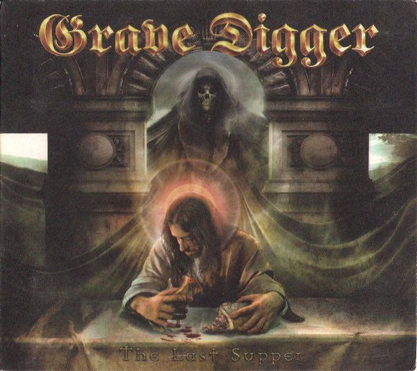 Grave Digger (2) - The Last Supper (CD, Album, Ltd, Dig) - NEW