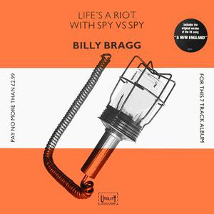 Billy Bragg - Life's A Riot With Spy Vs Spy (CD, Album, Promo, RM, 30t) - USED